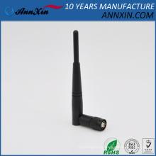 Antena de goma de Omni WiFi del pato de 2.4 GHz 3dBi con el conector masculino de RP-TNC