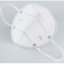 Masque 6 couches KN95 Anti PM2.5 Filtre à charbon actif Masque de protection respirant pour la protection contre les germes