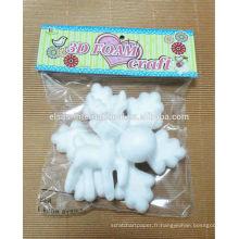 Animaux décoratifs Styrofoam Balls snowflakes Vente en gros imperméable