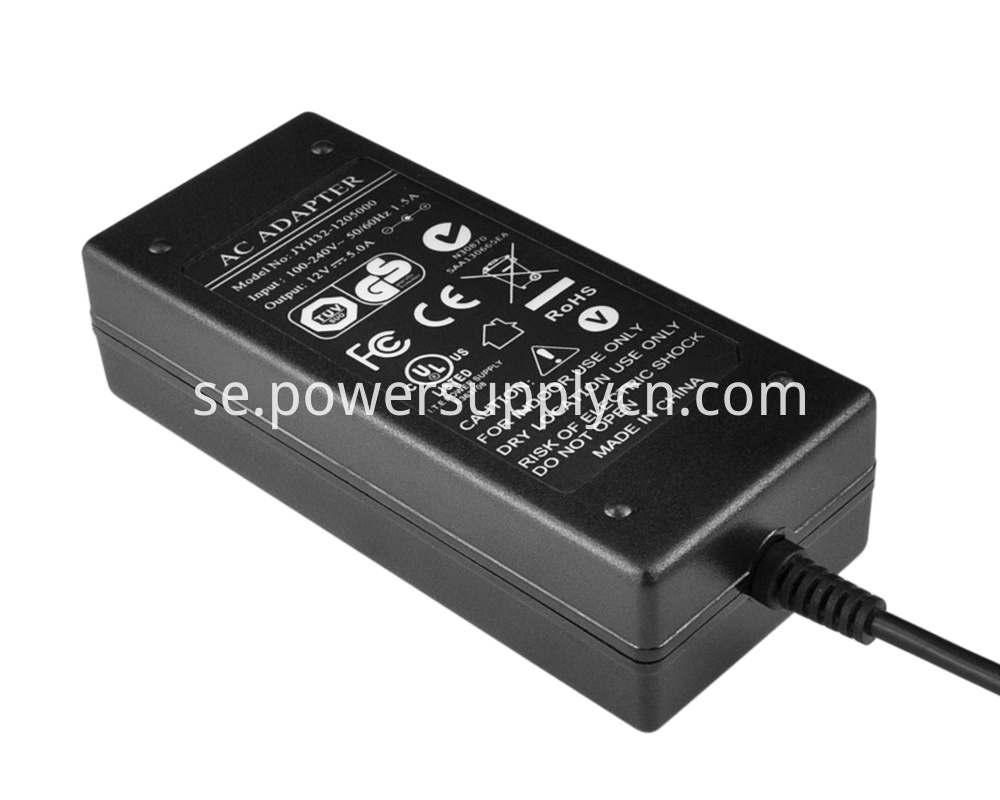 72W power adapter