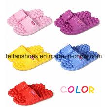 Новый дизайн женщин EVA Массаж пляж тапочки Ванная комната сандалии флип-флоп