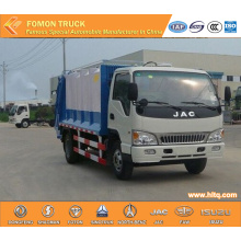 JAC 4X2 6tons waste compactor truck
