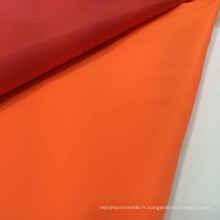 Vente en gros 100% de tissu de revêtement en tissu de couleur solide en nylon