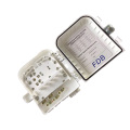 Caja de terminación de fibra óptica de 4 núcleos FTTH de alta calidad