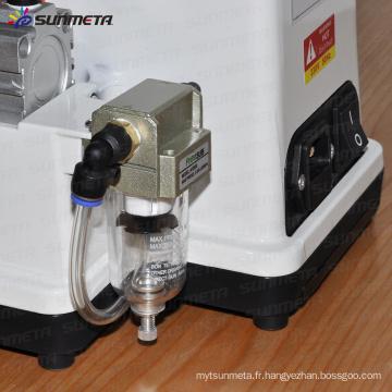 Machine à presser à chaud à faible prix, machine à imprimer à tige pneumatique avec certificat CE