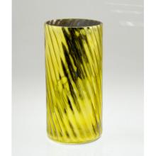 Bougeoir jaune à haute cylindrée