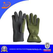 Guantes de color verde de 2 mm