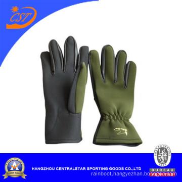 2mm Green Color Gloves