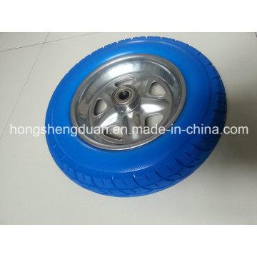 Колесо из полиуретана 3.50-8 имеет стальной обод