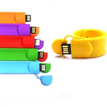 Flash personalizado personalizado do Usb do punho do bracelete