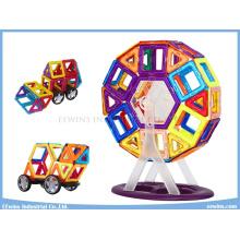 72 STÜCKE mit Rädern Magnetische Puzzle Spielzeug Weisheit DIY Lernspielzeug für Kinder