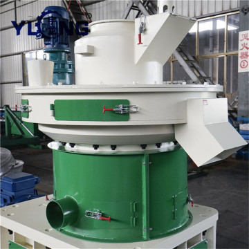 Pelota de biomassa Yulong que faz a máquina