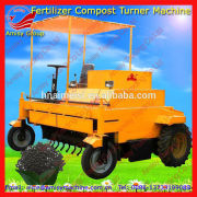 2015 Newest Amisy Self-propelled compost turner machine for fermenting organic animal manure 0086-13733199089