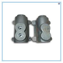 Дуктильная отливка утюга с подвергать механической обработке CNC и cmm проверяя