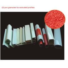Grânulos de PVC para perfis extrudados