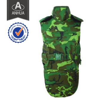 Camuflaje militar Chaleco a prueba de balas de protección completa