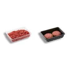 Emballage standard d'emballage de plateau de viande frais de pp / animal familier pour le frais-conservation