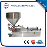 Cream filling machine for shampoo,bath gel,liquid detergent (100-1000ml)