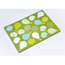 kids rubber table mats, eyes protect table mat, washable table mat