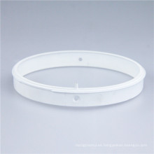 Piezas de aluminio fundido lámpara anillo luz marco