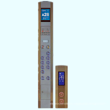 Piezas de repuesto de ascensor Cba10 coche Panel de operación (COP) y el Panel de operación pasillo (salto) para el elevador