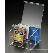 Boîte à thé en acrylique