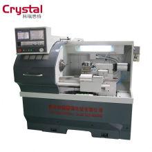 CK6132A cnc metall drehmaschine 3/4 kiefer maschinenbett für metall schneiden