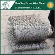 De alta resistencia decorativos tejidos a mano de acero inoxidable malla de alambre malla / cable de malla