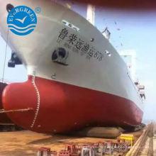 élévateur de navire airbags de lancement airbag pneumatique en caoutchouc