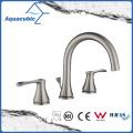 Hot Sale Double Handle Brass Lavatory Faucet (AF6610-6BN)