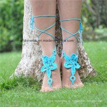 Häkeln Barfuß Sandalen Hochzeitsgeschenk Yoga Socken