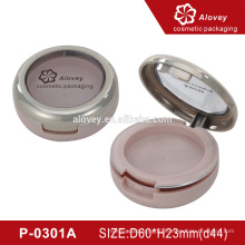 New cosmetic packaging pressed powder compact case