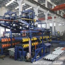 Plaque de toit en acier de laine de roche dissimulé Chine fournisseur pain formant la Machine