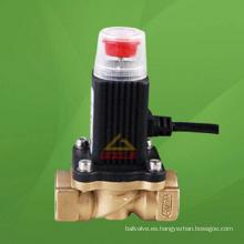 Restablecimiento manual de la válvula de solenoide de corte de emergencia (GAZCRH)