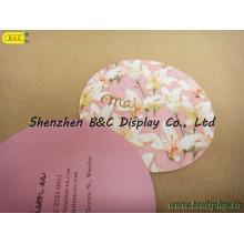 Beliebteste Werbung Karton Coaster, Tischsets aus Papier (B & C-G080)