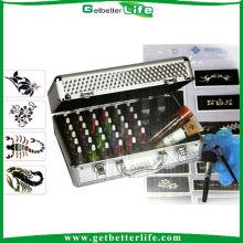 Alibaba 38 luxe Tattoo hexagone Glitter poudre, kit de tatouage paillettes Getbetterlife