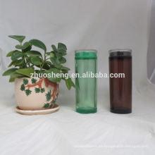 Ecológico personalizado simple botella plástico de alta calidad