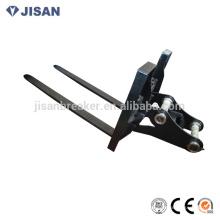 peças, garfo de elevação hidráulica, garfos de empilhadeira usados