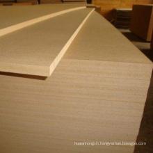 4x8ft plain mdf raw/ mdf melamine board