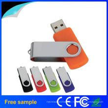 Costom Logo Impressão USB Flash Memory Stick em estoque