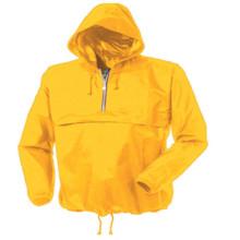 Gelbe Farbe Herren Leicht Windbreaker für Outdoor Sport