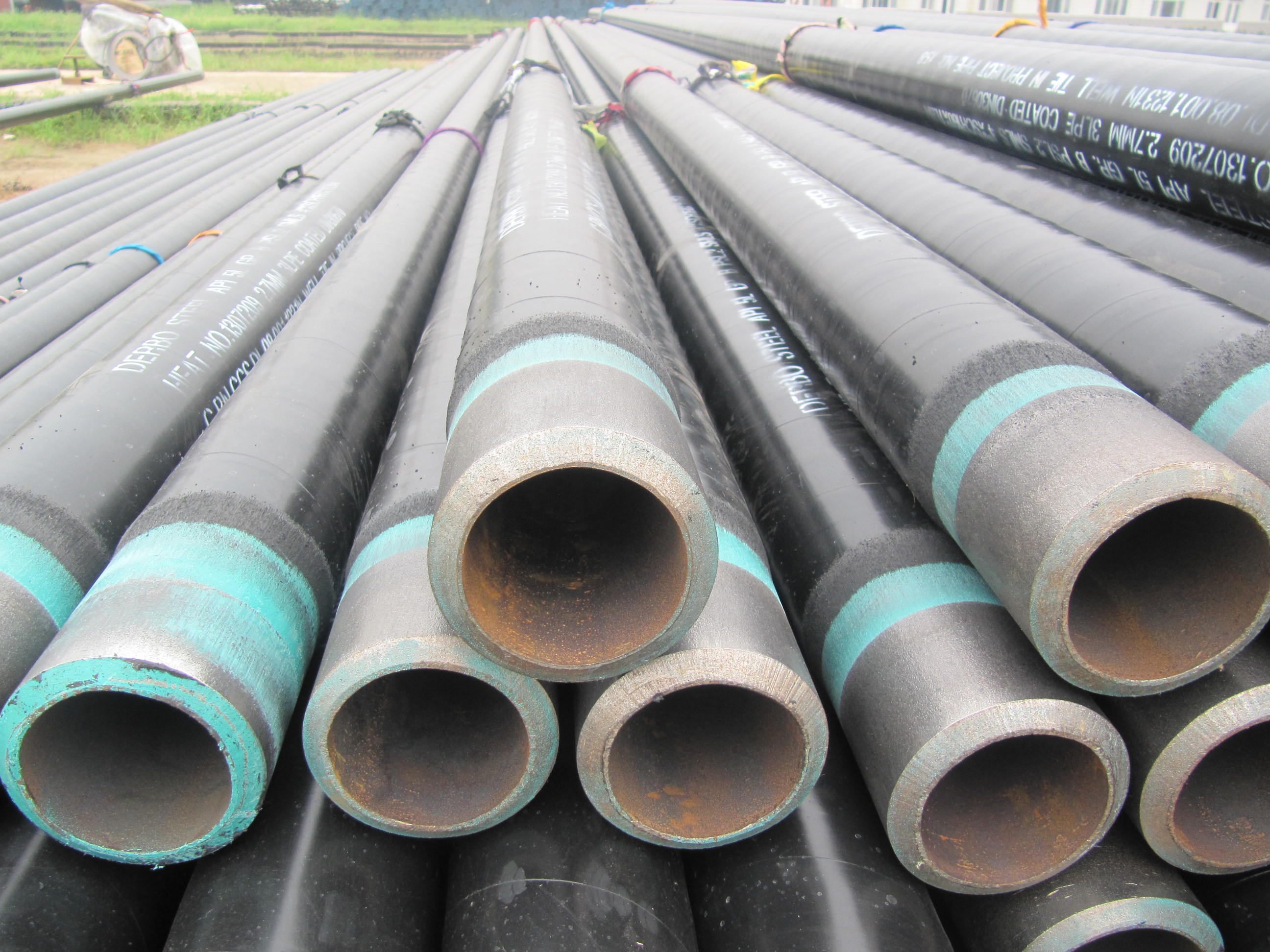 PE Coated as per ASTM 106 Seamless Steel Pipe