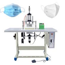 Máquina de soldadura semiautomática de máscara de correa de oreja plana
