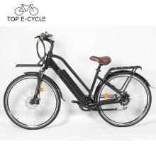 Livelytrip электронного велосипеда 700c винтажный электрический велосипед города
