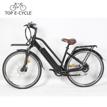 Livelytrip Top e Fahrrad 700C vintage elektrisches Stadtfahrrad