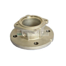Precision Alloy Steel Investment Casting , Pump Base Ceramic Shell Process