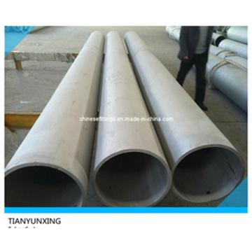 Tubería sin costura de acero inoxidable ASTM A213 (extremo liso)