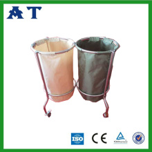 Double Nylon bag Waste Recycling Bin