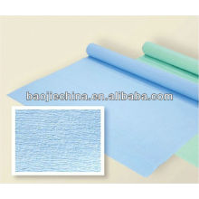 autoclave medical sterile wrapping crepe paper/medical papckaging bags