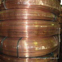 Brazed Double Wall Steel Pipes/Tube Copper Coated Applied for Automobiles, Refrigerators, Hydraulic Systesm
